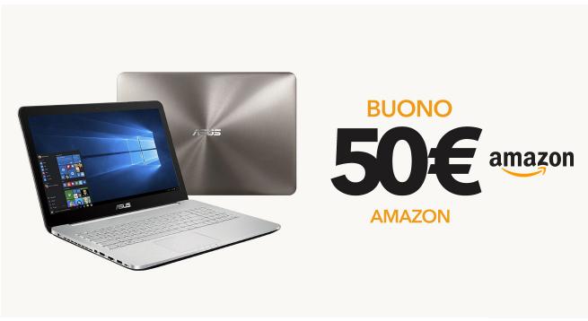 50€ di sconto acquistando nuovo Notebook !